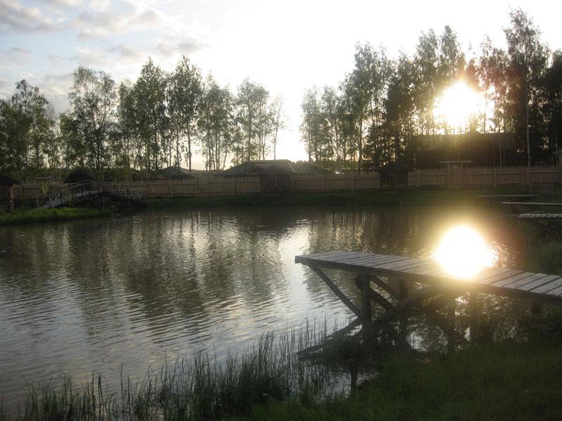 Рыбалка, 'Окулова Заимка', отдых в коттеджах в Подмосковье.