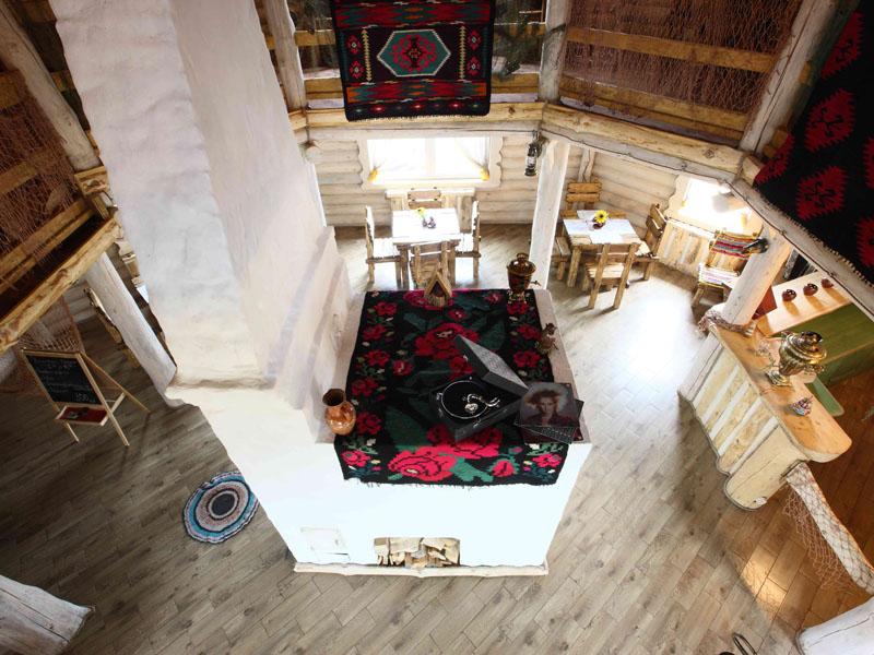 Ресторан  'Трапезная', 'Окулова Заимка', отдых в коттеджах в Подмосковье.