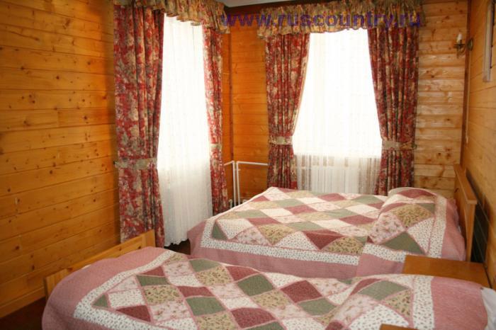 7-ти местный номер гостиницы у склона 'Горнолыжного клуба Леонида Тягачева', Подмосковье.