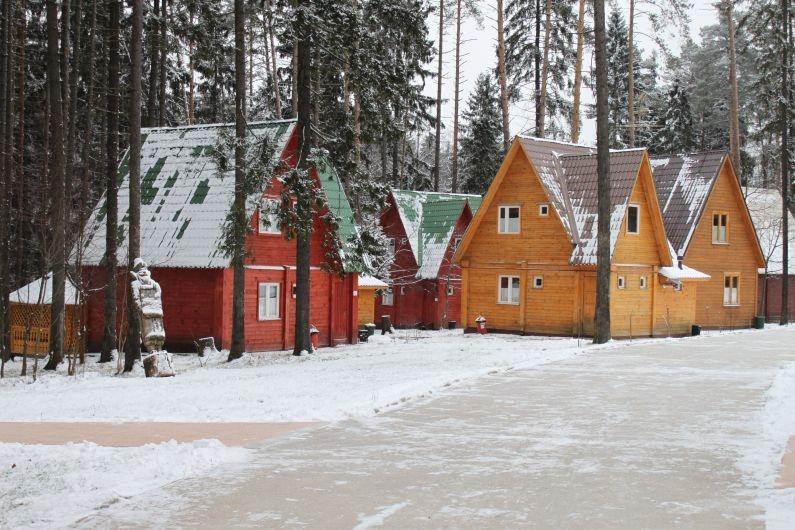 """Домик, Загородный отель и коттеджи """"Улиткино"""", отдых в Подмосковье."""