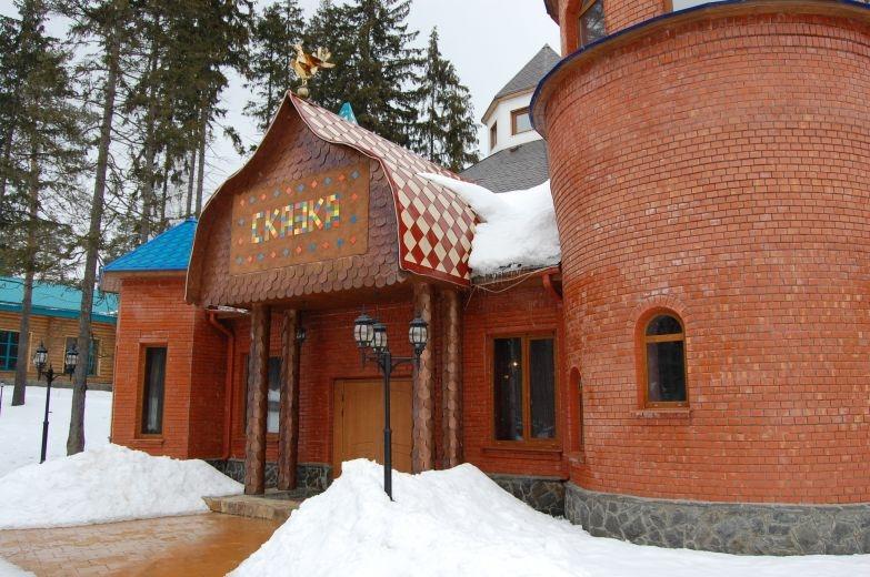 """Банкетный зал """"Сказка"""". Загородный отель """"Улиткино"""", отдых в Подмосковье."""