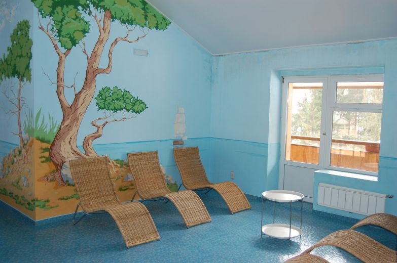 """Комната отдыха в бассейне. Загородный отель """"Улиткино"""", отдых в Подмосковье."""