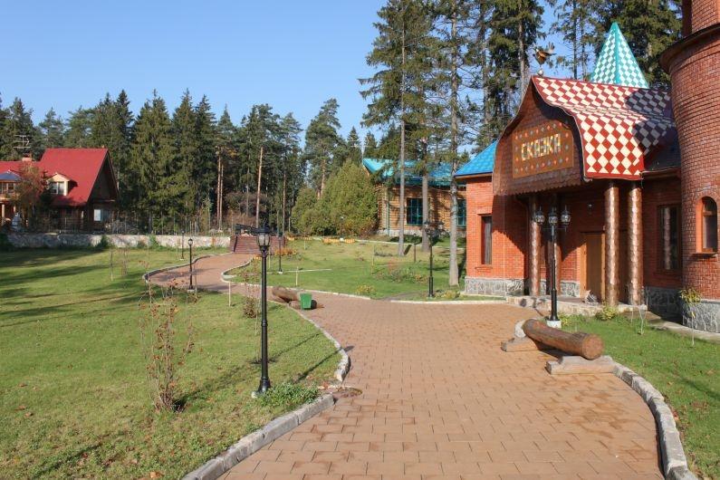 """Территория. Загородный отель """"Улиткино"""", отдых в Подмосковье."""