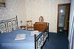 Молодежный полулюкс, спальня. Корпус № 2 Бекасово база отдыха. Отдых в Подмосковье, Россия санатории, пансионаты, дома отдыха, коттеджи, гостиницы, отели. Туры и путевки, стоимость и цены.