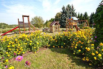 Детская площадка, Парк-отель 'Олимпиец', Подмосковье.