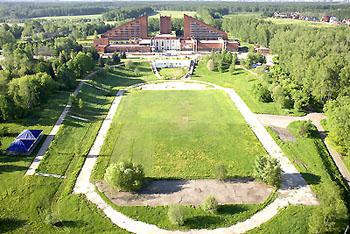 Внешний вид и территория, Парк-отель 'Олимпиец', Подмосковье.